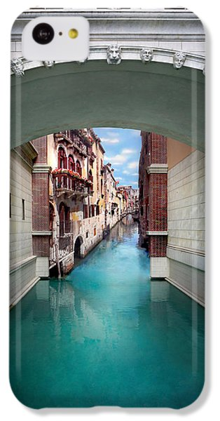 Featured Images iPhone 5c Case - Dreaming Of Venice by Az Jackson