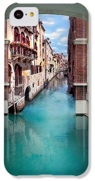 Featured Images iPhone 5c Case - Dreaming Of Venice Vertical Panorama by Az Jackson