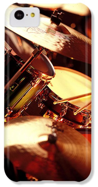 Drum iPhone 5c Case - Drums by Robert Ponzoni
