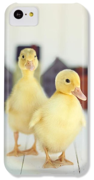 Ducks In The Neighborhood IPhone 5c Case by Amy Tyler