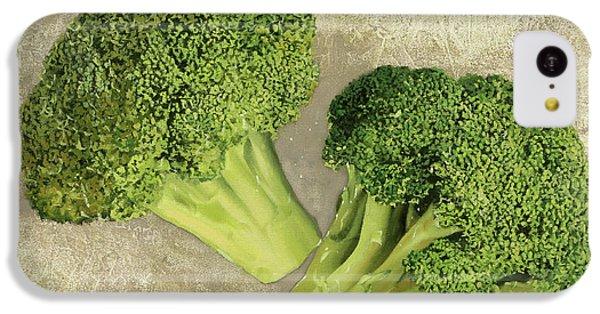 Due Broccoletti IPhone 5c Case by Guido Borelli