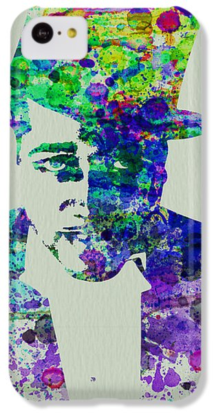 Saxophone iPhone 5c Case - Duke Ellington by Naxart Studio
