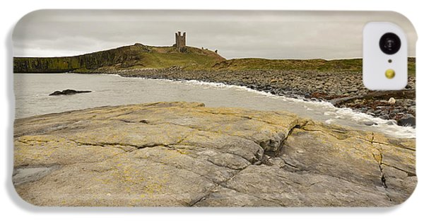 Castle iPhone 5c Case - Dunstanburgh Castle by Smart Aviation