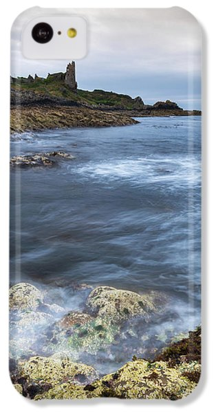 Castle iPhone 5c Case - Dunure Castle Scotland  by Mark Mc neill