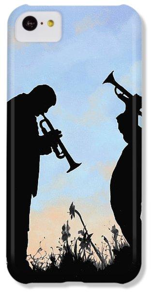 Trumpet iPhone 5c Case - duo by Guido Borelli