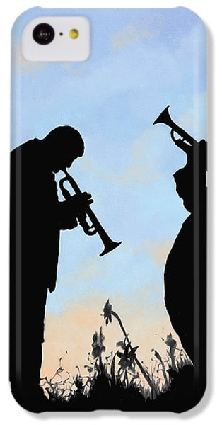 Trumpet iPhone 5c Case - duo by Guido Borelli