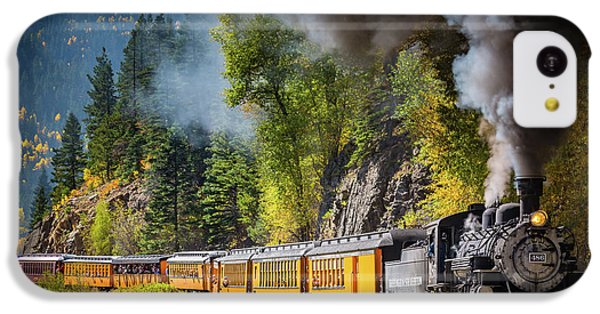 Durango-silverton Narrow Gauge Railroad IPhone 5c Case by Inge Johnsson