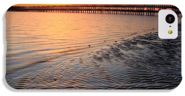 Duxbury Beach Powder Point Bridge Sunset IPhone 5c Case