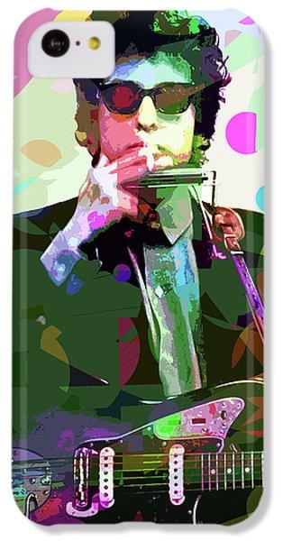 Dylan In Studio IPhone 5c Case by David Lloyd Glover