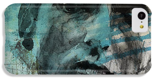 Dylan - Retro  Maggies Farm No More IPhone 5c Case by Paul Lovering