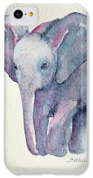 E Is For Elephant IPhone 5c Case by Richelle Siska
