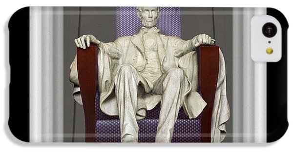 Lincoln Memorial iPhone 5c Case - Ea-z-chair Lincoln Memorial by Mike McGlothlen