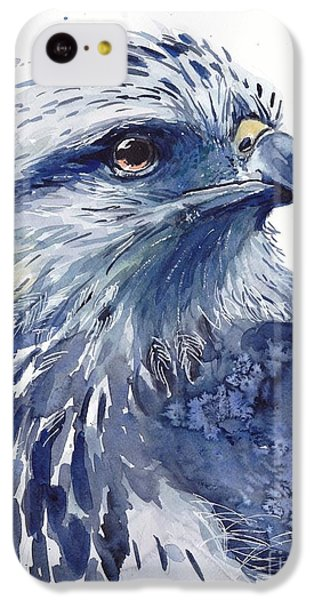 Pigeon iPhone 5c Case - Eagle Watercolor by Suzann's Art