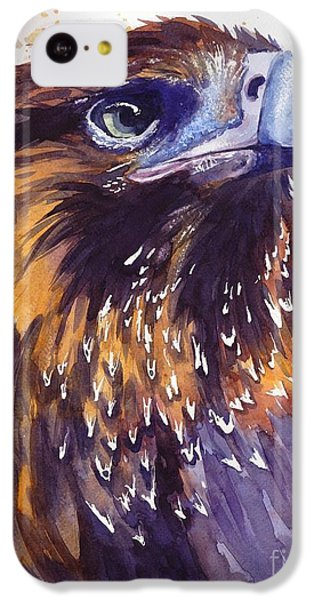 Pigeon iPhone 5c Case - Eagle's Head by Suzann's Art