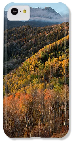 IPhone 5c Case featuring the photograph Eagle's Nest Peak Vertical by Aaron Spong