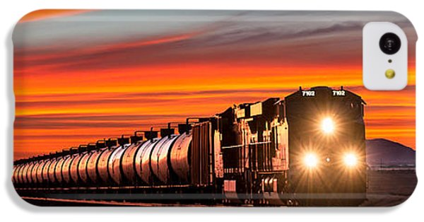 Train iPhone 5c Case - Early Morning Haul by Todd Klassy