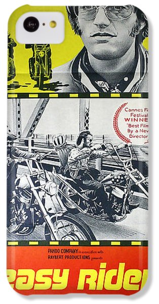 Easy Rider Movie Lobby Poster  1969 IPhone 5c Case by Daniel Hagerman