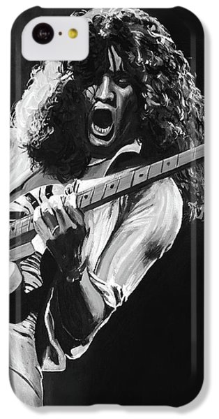 Eddie Van Halen - Black And White IPhone 5c Case