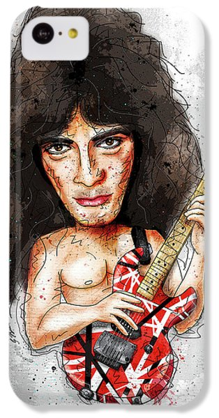 Eddie Van Halen IPhone 5c Case by Gary Bodnar