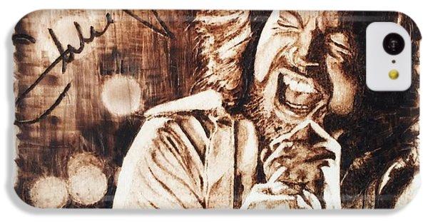 Eddie Vedder IPhone 5c Case by Lance Gebhardt