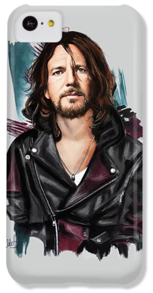 Eddie Vedder IPhone 5c Case by Melanie D