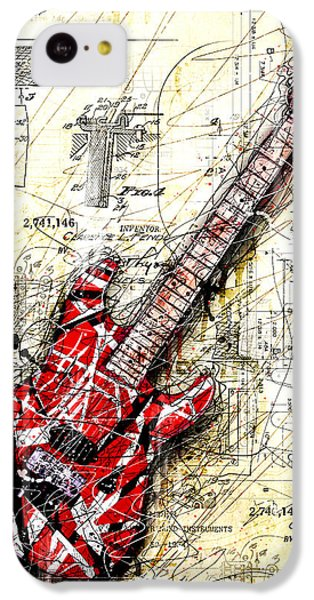 Eddie's Guitar 3 IPhone 5c Case by Gary Bodnar