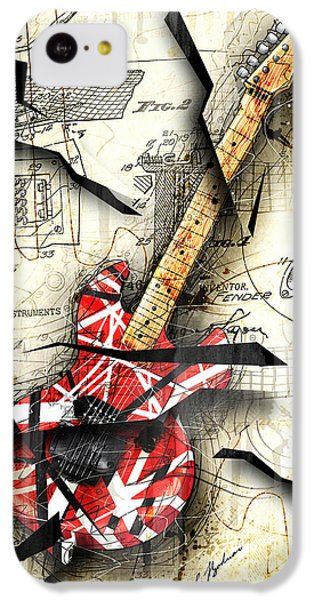 Eddie's Guitar IPhone 5c Case by Gary Bodnar