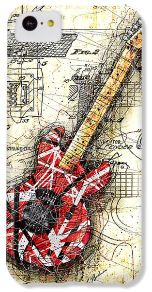 Eddie's Guitar II IPhone 5c Case by Gary Bodnar