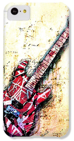 Eddie's Guitar Variation 07 IPhone 5c Case by Gary Bodnar