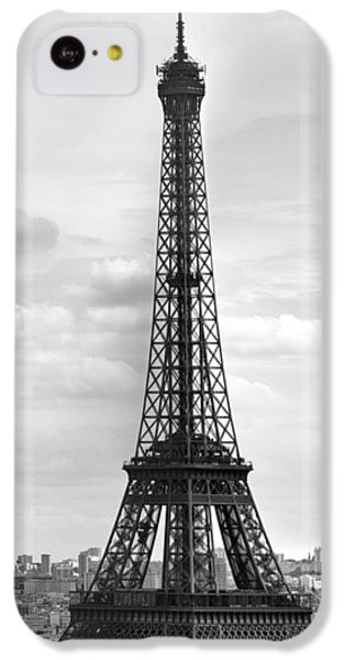 Eiffel Tower Black And White IPhone 5c Case