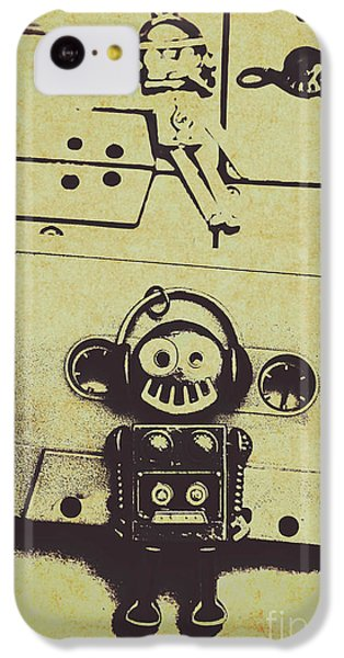 Sound iPhone 5c Case - Eighties Rewind  by Jorgo Photography - Wall Art Gallery