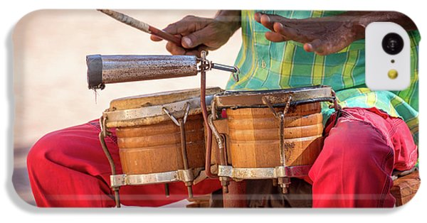 Drum iPhone 5c Case - El Son De Cuba by Delphimages Photo Creations