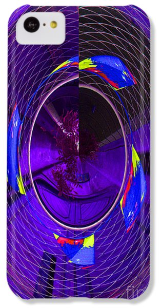IPhone 5c Case featuring the photograph Electric Blue by Nareeta Martin