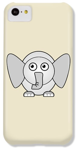 Elephant - Animals - Art For Kids IPhone 5c Case by Anastasiya Malakhova