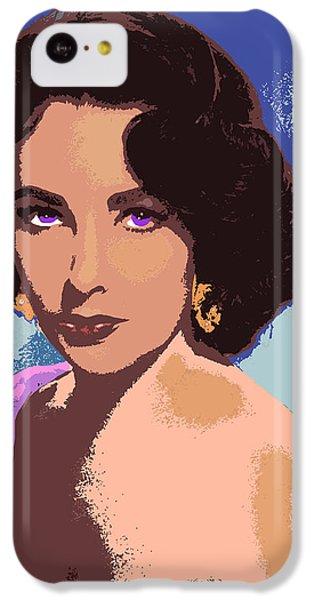 Elizabeth Taylor IPhone 5c Case by John Keaton