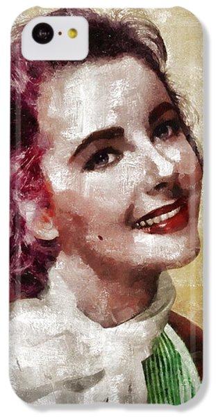 Elizabeth Taylor, Vintage Hollywood Legend By Mary Bassett IPhone 5c Case