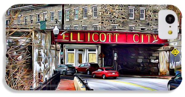 Ellicott City IPhone 5c Case