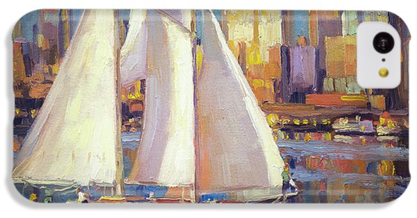 Seattle iPhone 5c Case - Elliot Bay by Steve Henderson