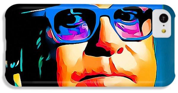 Elton John Blue Eyes Portrait IPhone 5c Case by Yury Malkov