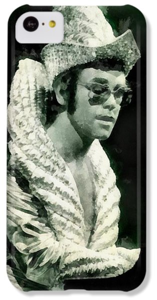 Elton John By John Springfield IPhone 5c Case by John Springfield
