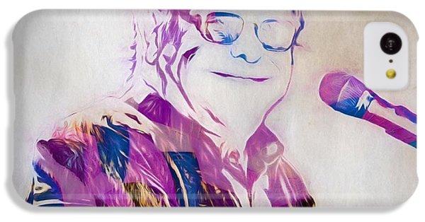Elton John IPhone 5c Case by Dan Sproul
