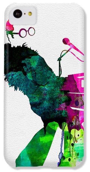 Elton Watercolor IPhone 5c Case by Naxart Studio