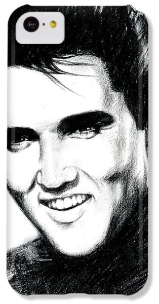 Elvis IPhone 5c Case by Lin Petershagen