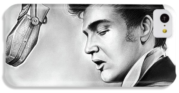 Elvis Presley IPhone 5c Case by Greg Joens