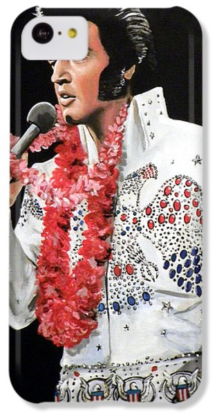 Elvis IPhone 5c Case by Tom Carlton