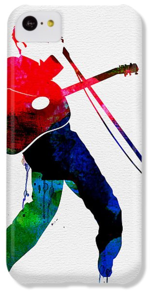Elvis Watercolor IPhone 5c Case