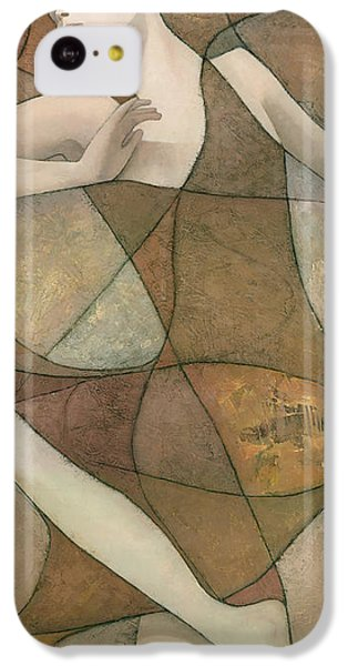 Abstract iPhone 5c Case - Elysium by Steve Mitchell