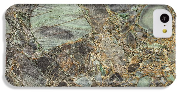 Emerald Green Granite IPhone 5c Case by Anthony Totah