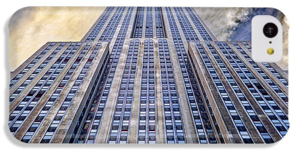 Empire State Building  IPhone 5c Case by John Farnan