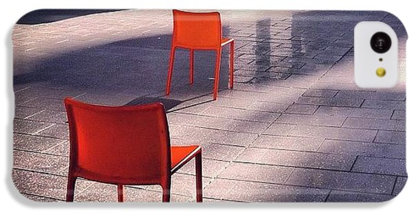 Empty Chairs At Mint Plaza IPhone 5c Case
